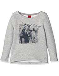 s.Oliver Mit Frontprint, Sweat-Shirt Fille