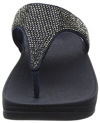 FitFlop Slinky Rokkit Tm Toe Post, Infradito Donna Brown (Chocolate)