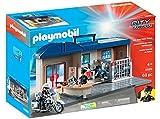 Playmobil Comisaría Maletín Juguete, geobra Brandstätter 5689