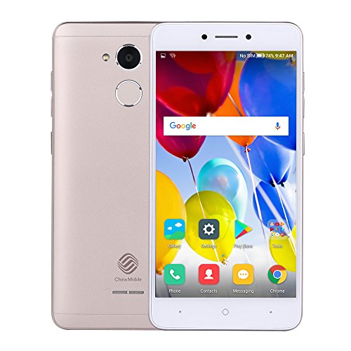 China Mobile A3s M653 Smartphone 4G Android 7.1.1 Quad core 5.2inch Schermo HD 1280 * 720p 2 GB + 16 GB Fotocamera da 5 + 8 MP 2800mAh