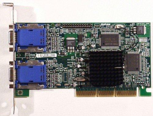 AGP-Grafikkarte Matrox G450 G45+MDHA16DLXB Dualhead AGP4x ID2546 - Ati Radeon Hd 3450