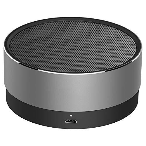 XAJGW Bluetooth Altavoz Metal Mini inalámbrico portátil 10-15 Horas Playtime 5W Altavoz...