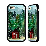 Head Case Designs Offizielle Mai Autumn Rote Huette Hoelzer Hybrid Hülle für iPhone 7 / iPhone 8