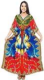 LA LEELA Badeanzug Kleid Langen Kaftan Bademode Frauen Kimono verschleiern Badebekleidung Mehr