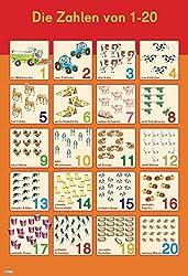 Mein Lernposter: Erste Zahlen 1-20