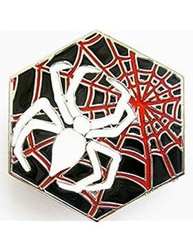 Hebilla con araña en diseño de telaraña, Gothic hebilla para cinturón