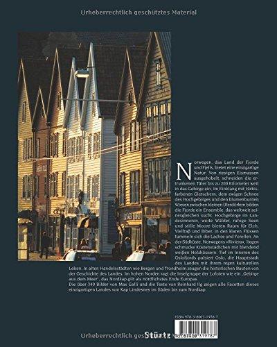 NORWEGEN - Ein Premium***-Bildband in stabilem Schmuckschuber mit 224 Seiten und über 330 Abbildungen - STÜRTZ Verlag: Alle Infos bei Amazon