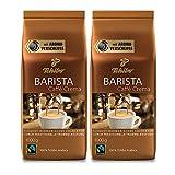 Tchibo Barista Caffè Crema ganze Bohne, 2 kg (2 x 1 kg)