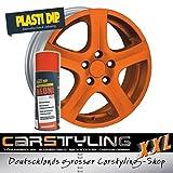 Pulvérisation de caoutchouc liquide Plasti Dip, néon-orange mat ... également êtra utilisé pour le corps