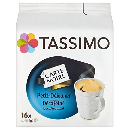 Product Image of Tassimo Carte Noire Petit Dejeuner Decaff T Discs (Pack of 5, Total 80)