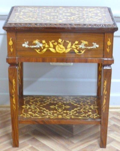 LouisXV Beistelltisch Tisch Barock Rokoko AntikStyl LaTa0463A02/12 antik Stil Massivholz....