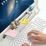 Monitor memo board–Sticky note Holder–Phone Message memo Pad ripiani portaoggetti–trasparente ufficio messaggio creativo multifunzione Paper notes lavagne per armadi ripiani Dressers