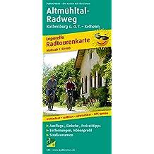 Altmühltal-Radweg: Leporello Radtourenkarte mit Ausflugszielen, Einkehr- & Freizeittipps, wetterfest, reißfest, abwischbar, GPS-genau. 1:50000 (Leporello Radtourenkarte / LEP-RK)