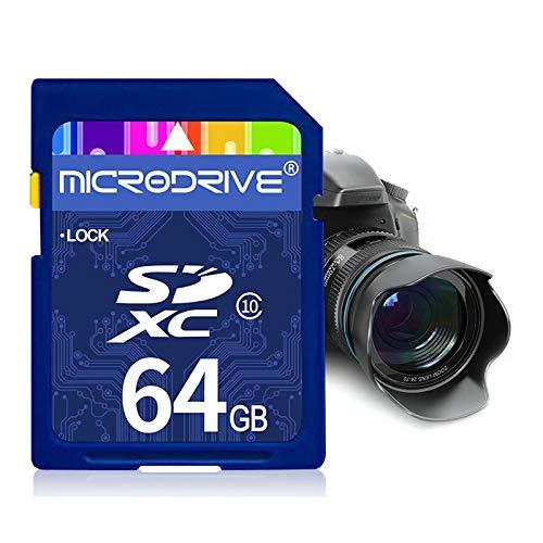 64 GB High Speed   Class 10 SD-Speicherkarte für alle digitalen Geräte mit SD-Kartensteckplatz High Quality