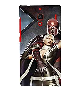 For Xiaomi Redmi 1S :: Xiaomi Hongmi 1S dangerous man, man, girl, pattern, wall Designer Printed High Quality Smooth Matte Protective Mobile Case Back Pouch Cover by APEX