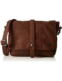 Roxy Evening Sun Bag, Sac bandoulière - Marron (Dbr), Taille Unique