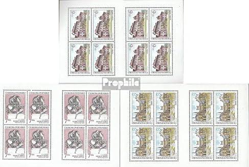 Feuille Miniature 3126 3128 3128 Tchécoslovaquie Tchécoslovaquie 3126 hCsrxtQd