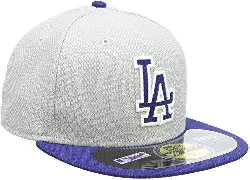 New Era Cap MLB Los Angeles Dodgers Diamond Era, Grey, 6 7/8, 10757139 (Pitcher Dodgers)