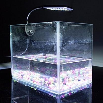 Kasstino 24 LED/48LED Highlighting Aquarium Light Fish Turtle Tank Light Clip Light Lamp (48LEDs) 6