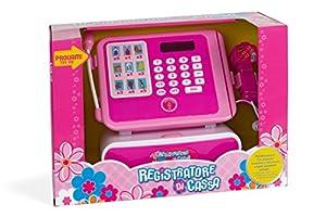 GLOBO 36440-Grabadora de Caja registradora con escáner y micrófono