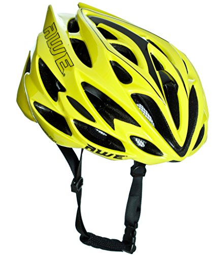 AWE AWESPEED - CASCO DE CICLISMO PARA HOMBRE, COLOR NEóN (55 – 58 CM) 1397