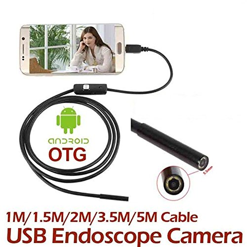 Giantree Endoscopio Android video cámara 7 mm, 3.5