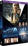 Coffret : Premier contact + Passengers + Life - Origine inconnue [DVD + Copie digitale]