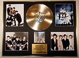 BEATLES Goldene Schallplatte AND Foto-Darstellung Limitierte Edition ABBEY ROAD