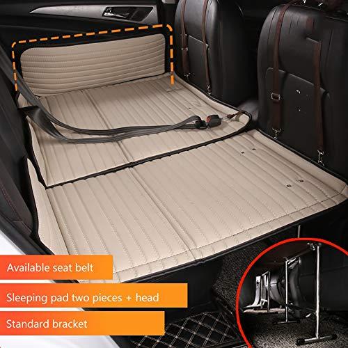 ZCY SUV Auto Matratze Reise Bett Auto Rücksitz Schlafen Pad Autobett Rücksitz Falten Matratze, Nicht Belüftet (Size : B)
