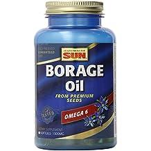 El aceite de borraja, 60 Cápsulas Blandas - Salud de The Sun