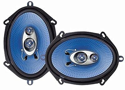 Paire d'enceintes Pyle d'une puissance de 300 Watts pour voiture de Pyle
