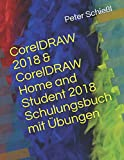 CorelDRAW 2018 & CorelDRAW Home and Student 2018 Schulungsbuch mit Übungen