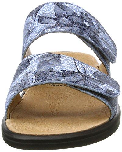 Ganter Sonnica-e, Mules Femme Bleu jean