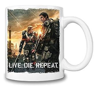 edge of tomorow live die repeat Mug Cup