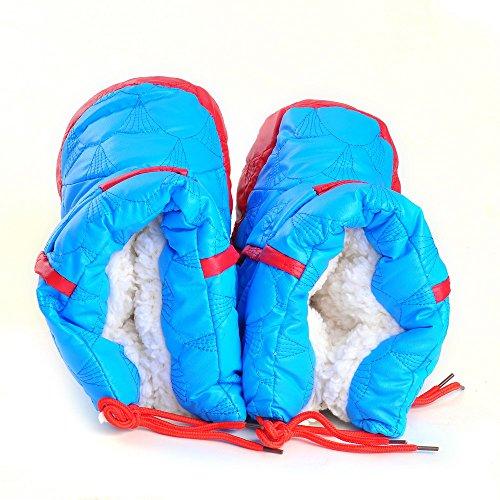 ESTAMICO , Chaussures souples pour bébé (fille) jaune jaune 18-24 mois Bleu