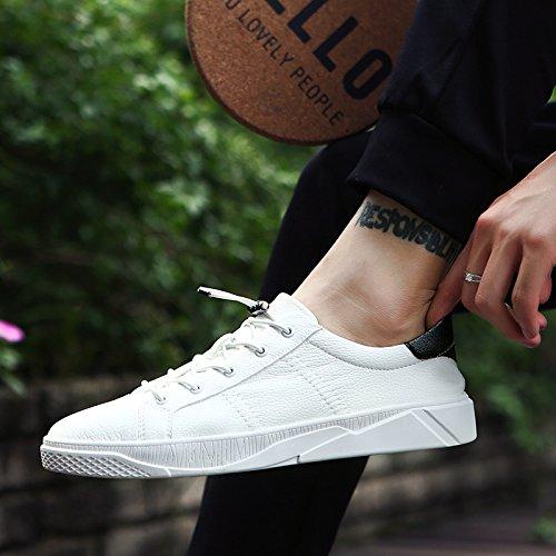 Wuyulunbi@ Primavera e autunno scarpe Scarpe bianche scarpe Bianco e nero