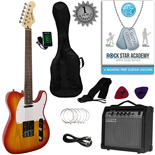 stretton-payne-tele-style-electric-guitar-package-with-amplifier-padded-bag-strap-lead-plectrums-tun