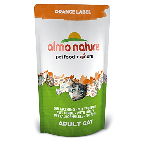 Almo Nature Orange Label Katzenfutter mit Truthahn (750 g)