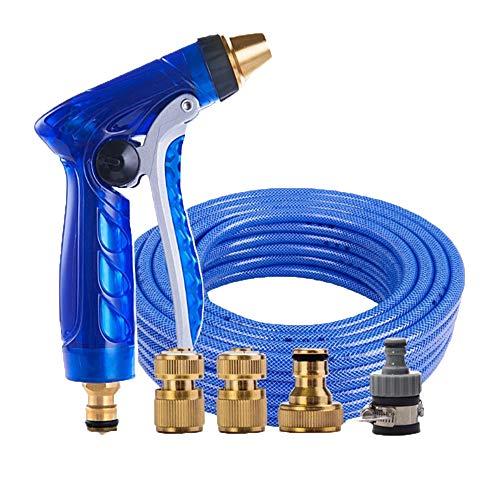 Pistola ad acqua per autolavaggio Tuta ad alta pressione telescopica Spazzola per uso domestico Tubo per auto Tubo per acqua Pistola ad acqua Set di strumenti per irrigazione a sprinkler (Dimensioni