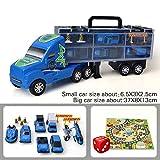 Housesweet Tragbarer Transportwagen Mini Spielzeug Auto Container Bausatz Kinder-Geschenke