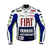 Rossi Yamaha Racing Leder Jacke (L (EU52-54))