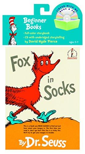 Fox in Socks Book & CD [With CD (Audio)] (DR. SEUSS: Beginner Books)