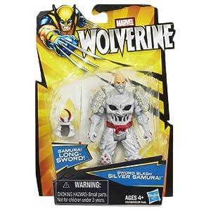 "Marvel Wolverine 3 3/4"" Sword Slash Silver Samurai"
