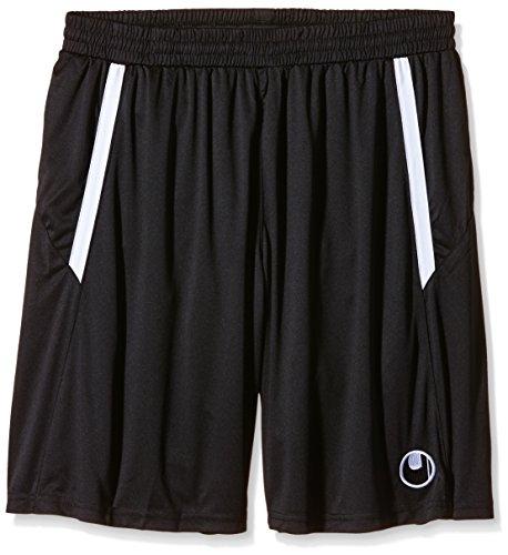 uhlsport, Pantaloni corti Team, Nero (Schwarz/Weiß), XL