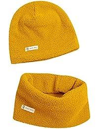 ideale come regalo di Natale per bambini da 1 a 8 anni in lana spessa antivento Scaldacollo termico invernale per bambini morbido e confortevole con motivo a stelle Ruixia