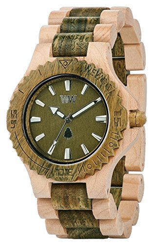 WeWood datearmybeige Montre Homme
