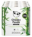 The Cheeky Panda is 100% Bamboo Toilet Tissue created by entrepreneurs Chris Forbes and Julie Chen. During a trip to Southeast Asia, they saw first-hand the local farmers' annual harvest bamboo go to waste. They had a lightbulb moment when they reali...