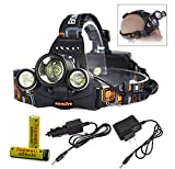 Topwell 5000Lm Rechargeable HEADLAMPS 3 ...