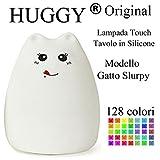 Huggy LED Mehrfarbig Akku Farbtherapie Licht Nacht Kinder Katze Slurpy