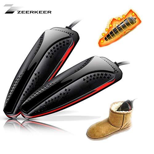 ner, Roll-Elektrischer Wäschetrockner Gerät mit Timer für Ihre Schuhe, Stiefel, Handschuhe, Geruch, Bakterien, Schimmel, Blakc ()
